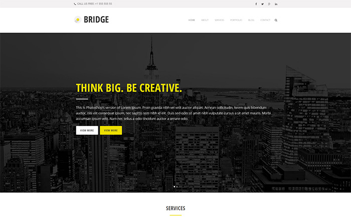 Bridge Digital Agency Demo