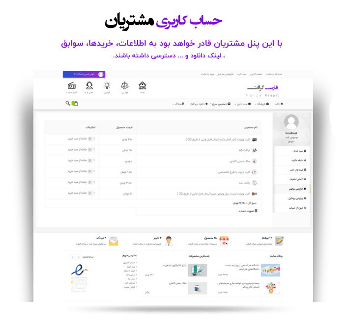 قالب فروش فایل فارس گرافت
