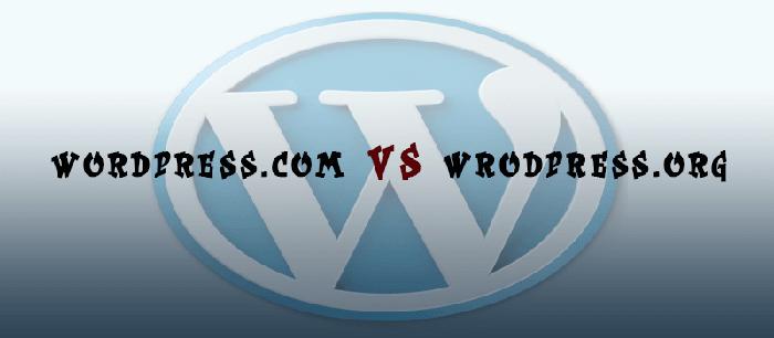 مقایسه wordpress.org یا wordpress.com