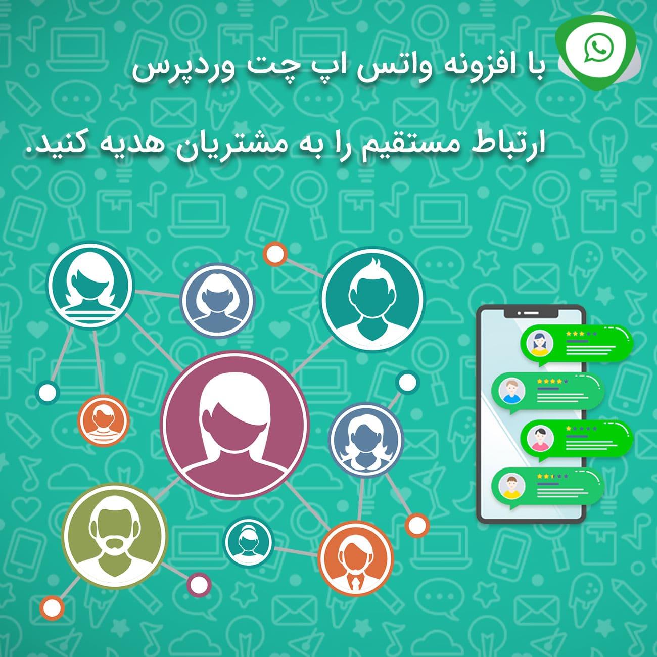 افزونه واتس آپ چت وردپرس | افزونه WhatsApp Chat WordPress
