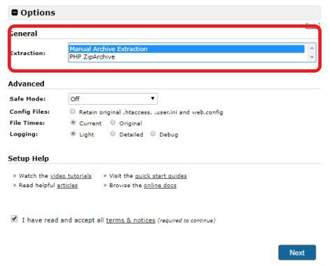 آموزش نصب بسته نصبی قالب وردپرس