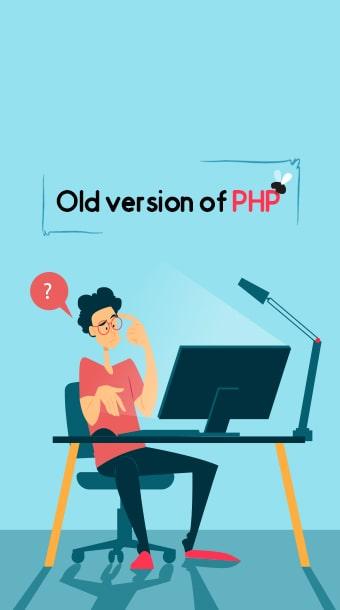 رفع مشکل قدیمی بودن نسخه PHP هاست image