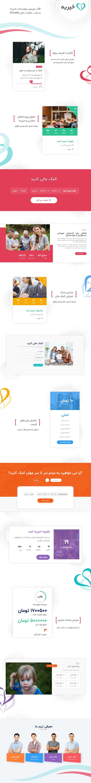 قالب Charitious | قالب وردپرس موسسات خیریه Charitious | قالب جذب حمایت مالی و Donate