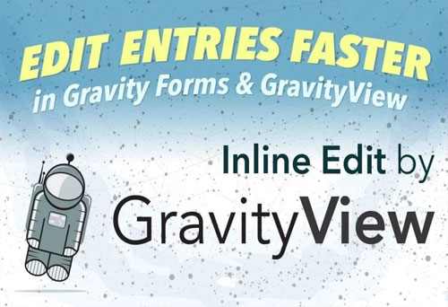 افزونه gravityview inline edit