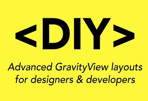 افزونه gravityview diy