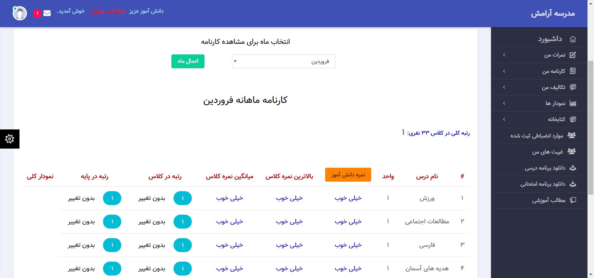 اسکریپت MySchool | اسکریپت حرفه ای مدیریت مدرسه مجازی