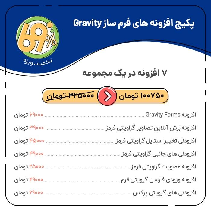 81036 9588702bccbda3be46d4d33ba - پکیج افزونه های فرم ساز گرویتی ، Gravity Form Builder Package