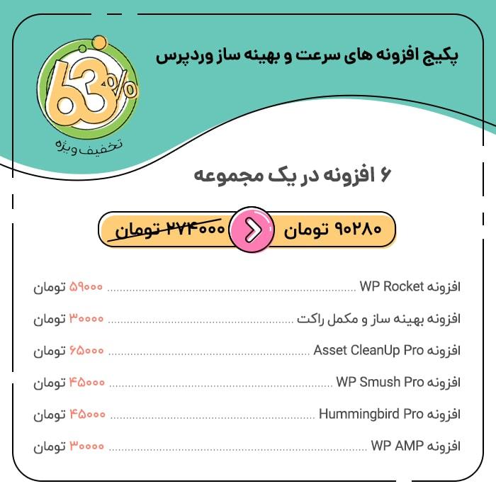 پکیج افزونه های سرعت و بهینه ساز وردپرس | WordPress Security Package
