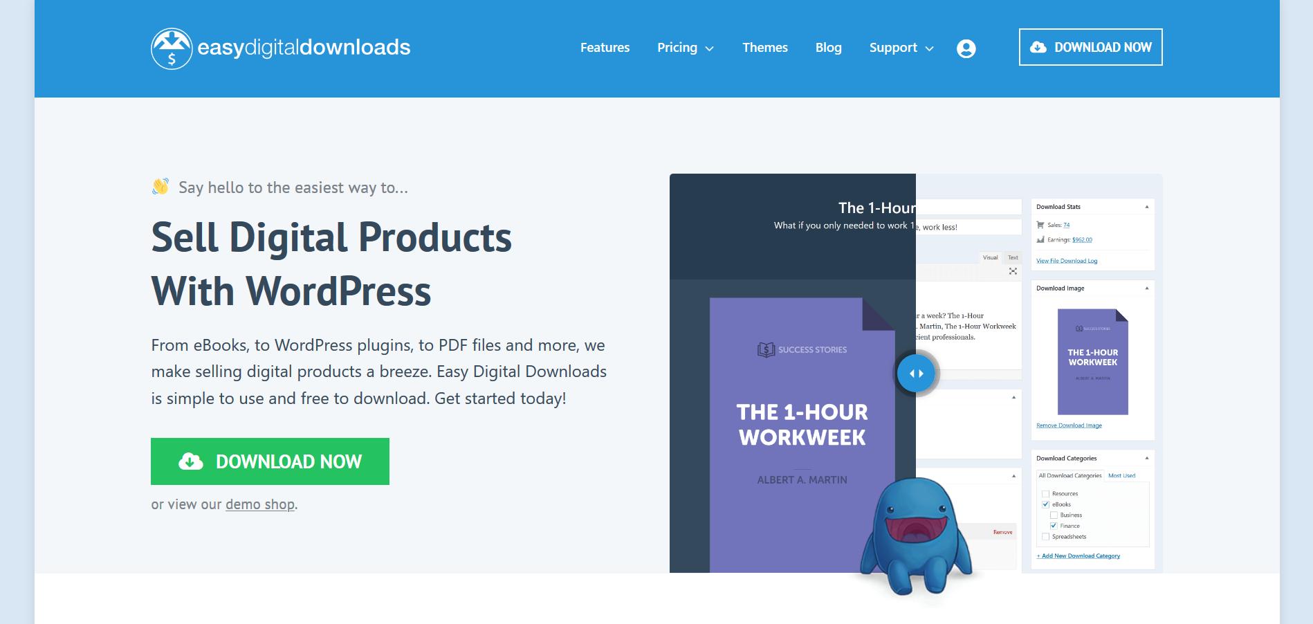 افزونه دانلود به ازای پرداخت Easy Digital Downloads