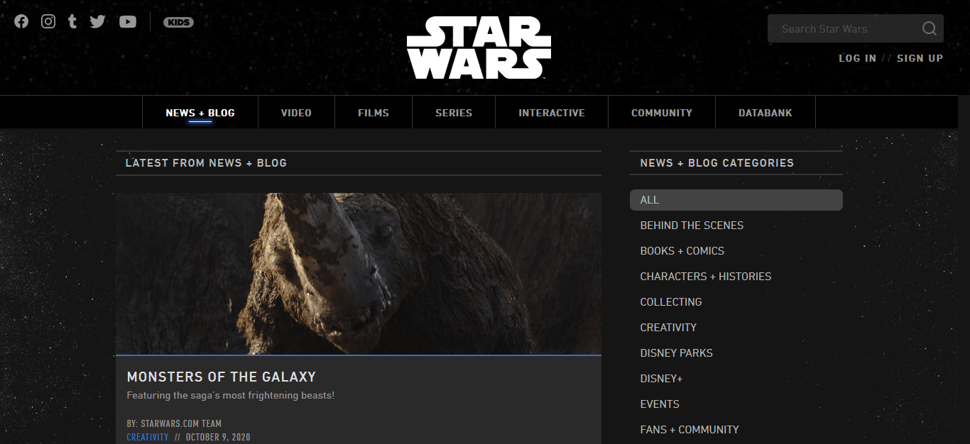 The Official Star Wars Blog