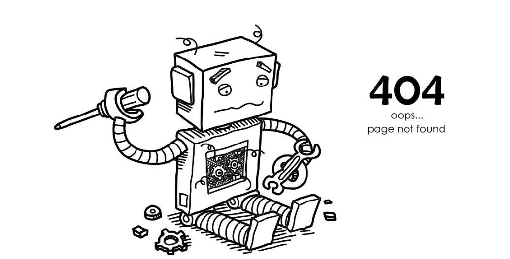 صفحات یتیم غیر منتظره با ارور 404