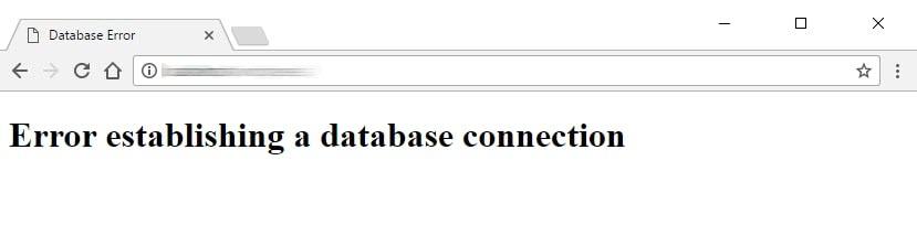 رفع خطا Error Establishing a Database Connection