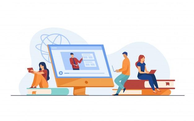 بهترین قالب آموزش آنلاین