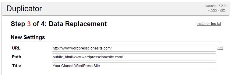 مراحل انتقال به سایت جدید تایید آدرس
