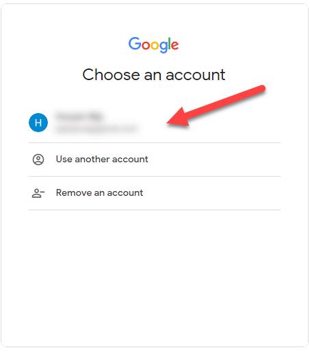 انتخاب جیمل برای اتصال Google Analytics به وردپرس