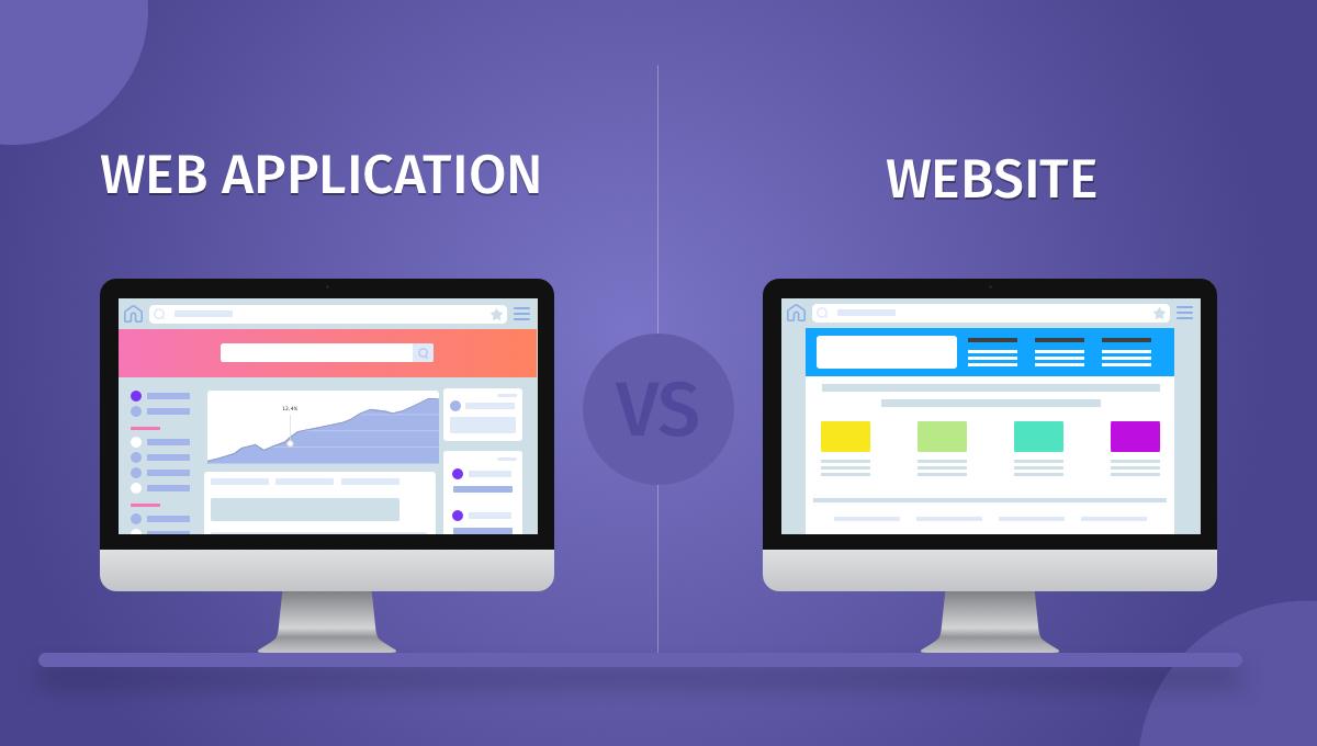 تفاوت وب اپلیکیشن و وب سایت