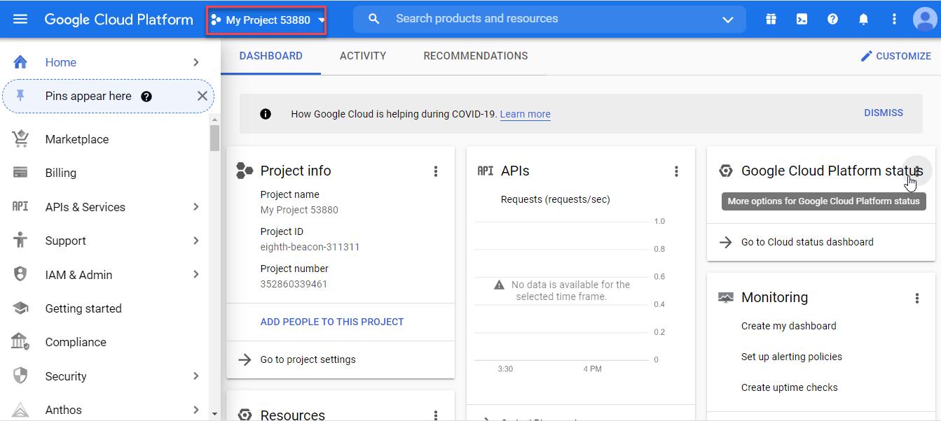 دریافت api key برای نقشه گوگل