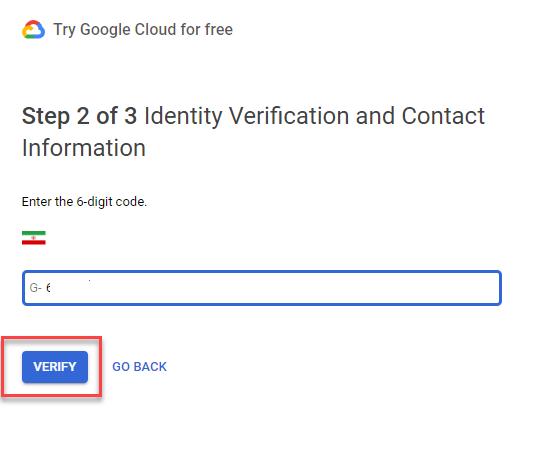 تایید حساب کاربری کلید api نقشه گوگل