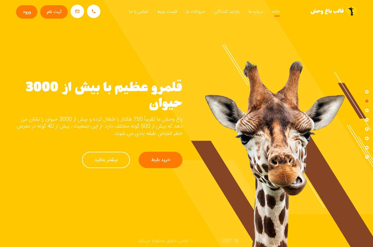 قالب HTML باغ وحش بونوبومب