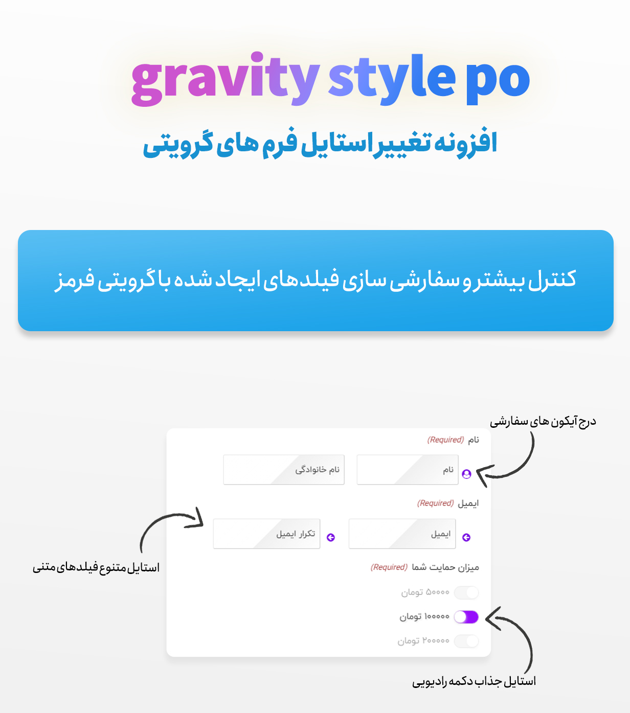 افزونه Gravity Forms Styles Pro فارسی
