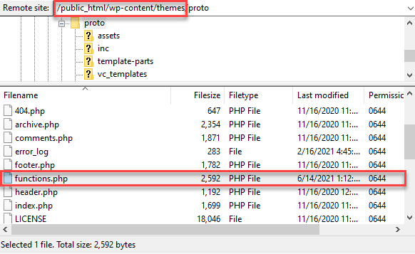 رفع خطای Syntax از طریق FTP